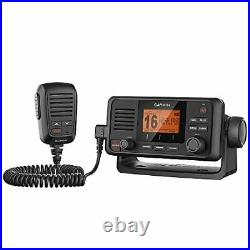 NEW Garmin VFH110 Black Fixed Mount 25W VHF Radio 010-01653-00 Boat Marine LC