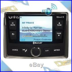 NEW Infinity 3.5NMEA 2000 SiriusXM-Ready USB/Bluetooth Marine/Boat Stereo Radio
