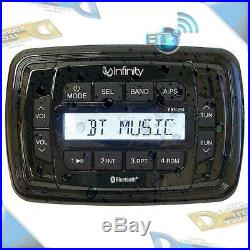 NEW Infinity In-Dash AM/FM Radio USB/MP3 Bluetooth Marine/Boat Stereo Receiver