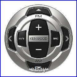 New Bluetooth KMRD372BT Marine Boat Radio CD MP3 USB Receiver Smartphone Remote