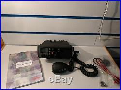 New Boat Marine Simrad RS62 VHF Radio With Mic, Bracket, Instruction
