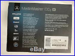 New JL AUDIO MEDIA MASTER MM100S-BE MARINE BOAT BLUETOOTH SOURCE UNIT USB RADIO