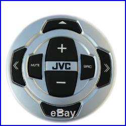 New JVC Marine Boat Motorcycle Bluetooth USB Stereo Pandora Radio WithWired Remote