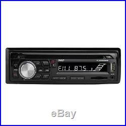 New Marine Boat CD MP3 AU X Stereo Radio 4 X Speakers + New 400 Watt Amp /Cover