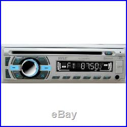 New Marine Boat MP3 Player AUX Radio 4 3.5 Box Waterproof Speakers Amp Kit Syst