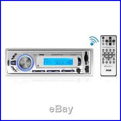 New Marine Boat MP3/USB/SD/AUX iPod Input Radio & 400W Amp With4 Speakers + Cover
