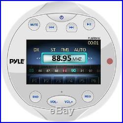 New PLMR94W Bluetooth Marine Gauge Receiver USB/MP3 Video Input Boat Yacht Radio