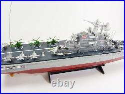 New Rc Radio Remote Control Twin Propeller Deep Sea Navy Warship Ocean Boat Ship