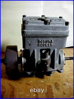 OCTURA MODELS Vintage RC 2 Cylinder MOTOR - For RADIO CONTROL MODEL BOAT