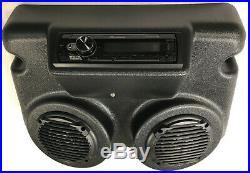 Overhead Console For Golf Carts, Utv, Boat, Marine With Radio, Speakers, Anten