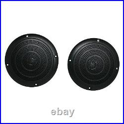 Pioneer MVHMS310BT Marine Boat Yacht AUX/USB AM/FM Radio + 4 x 5 Black Speakers