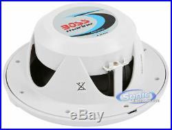 Planet Audio PGR35B 3.5 Gauge Hole Marine MP3/Radio Receiver + 4 Boat Speakers