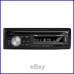 Pyle Bluetooth Marine Radio MP3/USB CD + Cover, 2x 6.5'' Waterproof Speakers