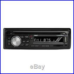 Pyle Bluetooth Marine Radio MP3/USB/SD CD AM/FM + Cover, 4x Box 3.5'' Speakers