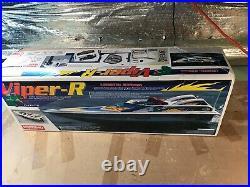 RARE Kyosho Viper-R Viper R Boat RC remote control R/C Radio with Box