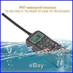 RS-38M Marine Boat Ship Mobile Handheld Radio VHF GPS DSC MOB Waterproof IPX7