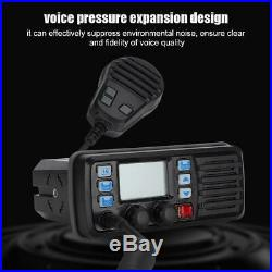 RS-507M Mobile Marine Boat Radio VHF Weather Channel GPS Receiver + Speaker Mic