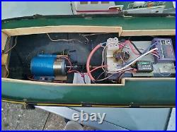 Radio Control Tug Boat Minotaurus 75 cm Big Engine receiver New Lithium Battery