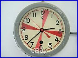 Radio Room Soviet Russian Vostok Boat/ship Submarine Navy Cabin Clock