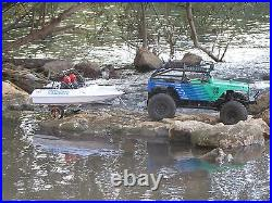 Radio control Trailer KIT for rc boat nqd tear into 1/10 crawler accessories