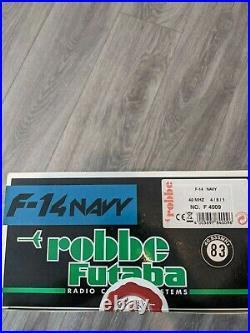 Robbe Futaba F-14 Navy Twin Stick Radio Control System RC Boat Tugboat