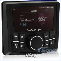 Rockford Fosgate Pmx-2 Marine Boat Stereo Bluetooth Radio Usb Pandora Iphone