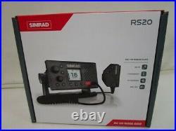 Simrad Rs20 Dsc Vhf Marine Radio With Gps 000-13545-001 Marine Boat