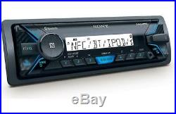 Sony Marine Digital Receiver Radio Bluetooth Media Player 6.5 Speaker Boat Kit