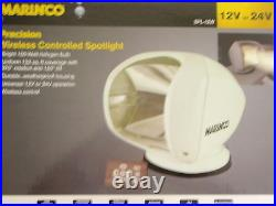 Spot Light Marinco 69 Spl12w White 12v Wireless Remote Boat Marine Spotlight