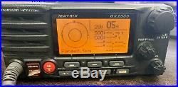 Standard Horizon Boat Matrix GX2000 Class D DSC VHF Marine Radio Black