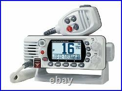 Standard Horizon Eclipse GX1400 Fixed Mount NOAA VHF Boat Radio Class D White
