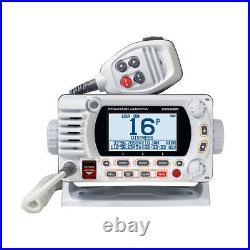 Standard Horizon Explorer GX1800 VHF Boat Radio with NOAA Class D DSC White