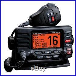 Standard Horizon GX1600 Explorer VHF Marine Boat Radio Class D Black