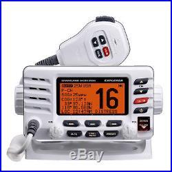 Standard Horizon GX1600 Explorer VHF Marine Boat Radio Class D DSC/NOAA White