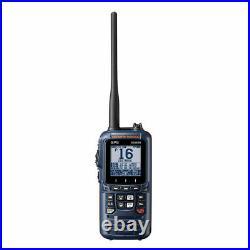 Standard Horizon HX890 Handheld Marine Boat VHF Radio Navy Blue