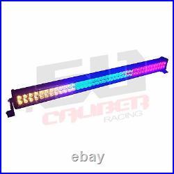 Strobe Multicolor 42 Inch LED LightBar with4 Button Wireless Remote Control Boat
