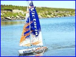 Thunder Tiger Victoria Radio Control Sailing Yacht Kit 5556 v2017