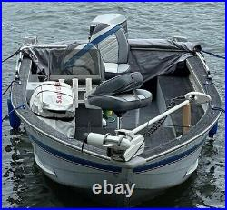 Tracker Pro V Fishing Boat 1993 17 Feet Trailer, Trolling Wireless Motor, Finder