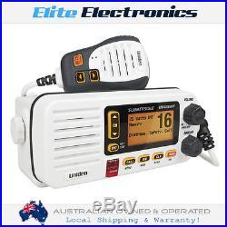 UNIDEN UM455VHF VHF MARINE IN-BOAT RADIO With SUBMERSIBLE SPEAKER MICROPHONE