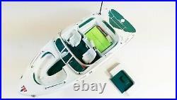 Uk Radio Remote Control Twin Propeller Ocean Power Boat Atlantic Yacht Rc Model