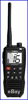 Uniden Atlantis 275 Handheld Floating VHF Marine Radio Boat 2-Way Waterproof