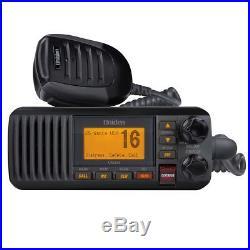 Uniden UM385 Fixed Mount Marine Boat VHF Radio Black