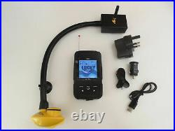 Universal Bait boat fish finder, 200 metre range, Easy attachment to boat. Carp