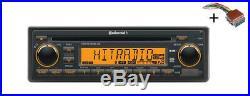VDO CD RADIO USB MP3 WMA DAB DAB+ DMB BT 12V + Cable Boat Marine CDD7418UB-OR