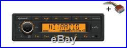VDO RADIO USB MP3 WMA BLUETOOTH 12V + Cable Boat Marine TR7412UB-OR