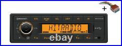 VDO RADIO USB MP3 WMA BLUETOOTH 24V + Cable Boat Marine TR7423UB-OR
