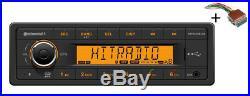 VDO RADIO USB MP3 WMA DAB BLUETOOTH 24V + Cable Boat Marine 2910000431200