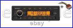 VDO RADIO USB MP3 WMA DAB DAB+ DMB BT 12V + Cable Boat Marine 2910000430600