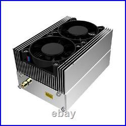 VHF80W RF Power Amplifier Amp 40-80W For 2 Way Radios Vehicle Boat Walkie Talkie