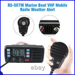 VHF 156.025-157.425MHz Waterproof LCD FM Boat Amateur Mobile Radio GPS Receiver